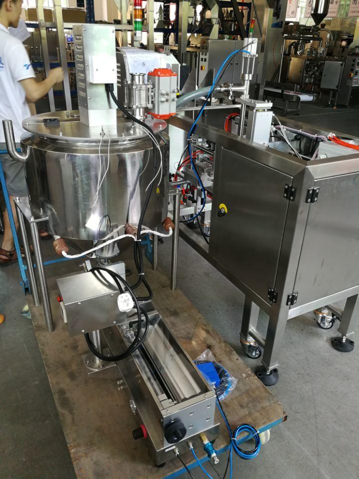 Liquid Packing Machine with Piston Pump