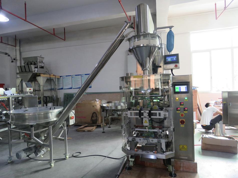 Powder Packaging Machine Running on VFFS